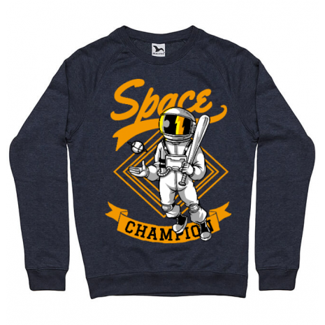 Bluza ADLER barbat Space champion Denim inchis