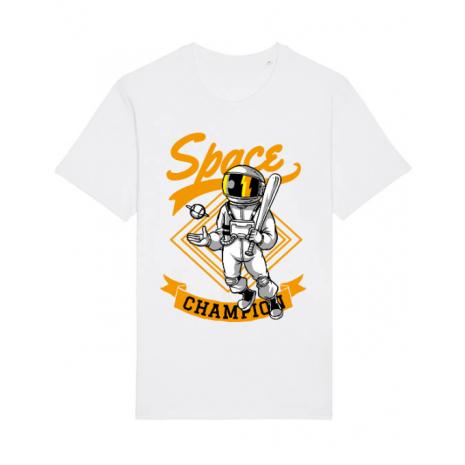 Tricou STANLEY STELLA barbat Space champion Alb