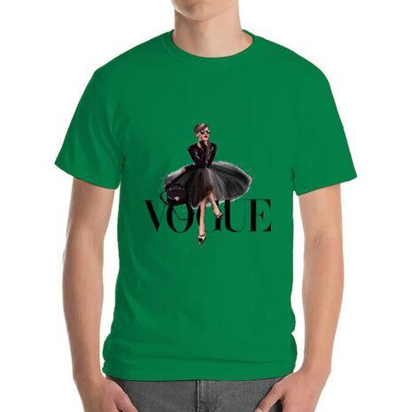 Tricou ADLER barbat Little black tutu Verde mediu
