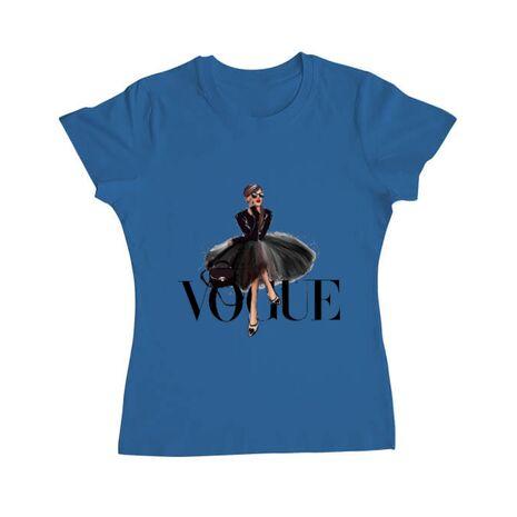 Tricou ADLER dama Little black tutu Albastru azuriu