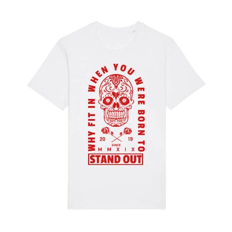 Tricou STANLEY STELLA barbat Born to stand out Alb