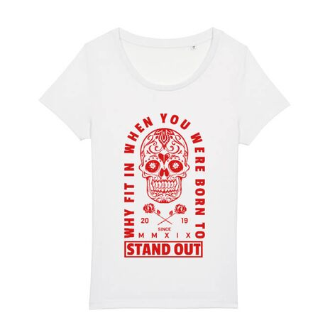 Tricou STANLEY STELLA dama Born to stand out Alb