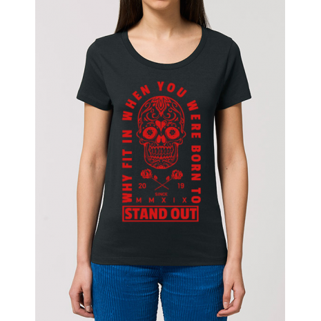 Tricou STANLEY STELLA dama Born to stand out Negru