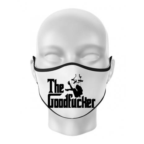 Masca personalizata reutilizabila The goodfucker Alb