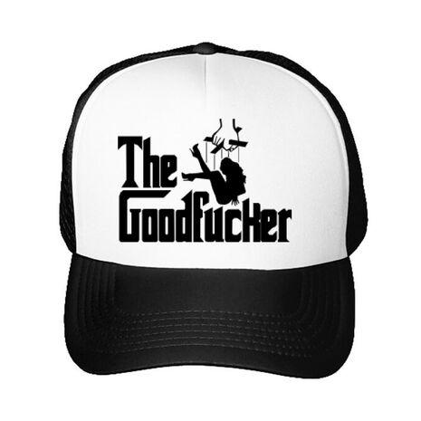 Sapca personalizata The goodfucker Alb