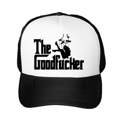 Sapca personalizata The goodfucker Alb