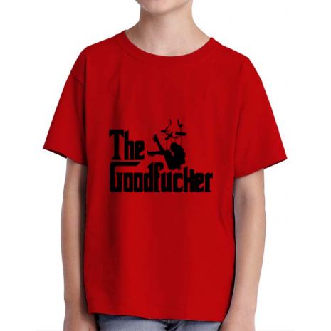 Tricou ADLER copil The goodfucker Rosu