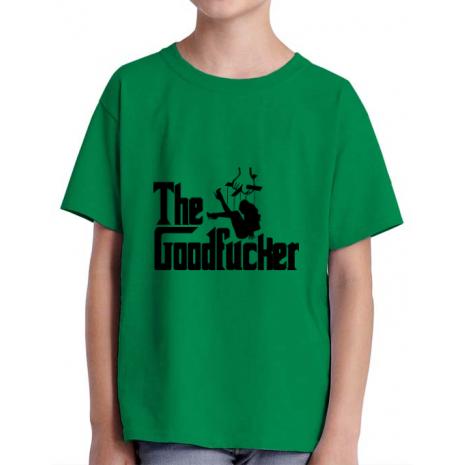Tricou ADLER copil The goodfucker Verde mediu