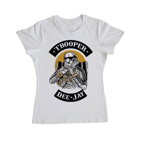 Tricou ADLER dama Trooper Dee Jay Alb