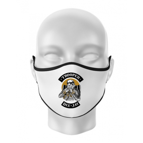 Masca personalizata reutilizabila Trooper Dee Jay Alb