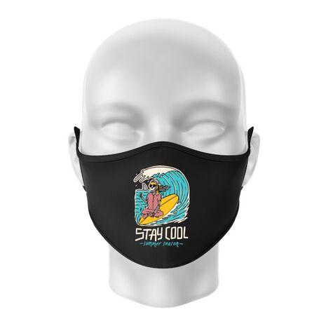 Masca personalizata reutilizabila stay cool Negru