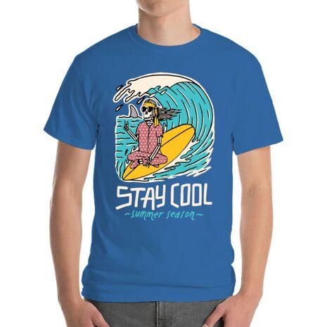 Tricou ADLER barbat stay cool Albastru azuriu