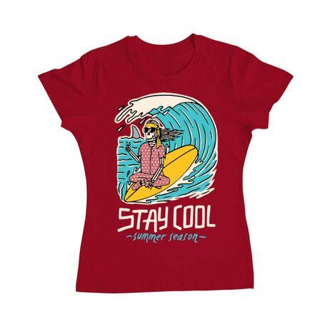 Tricou ADLER dama stay cool Rosu