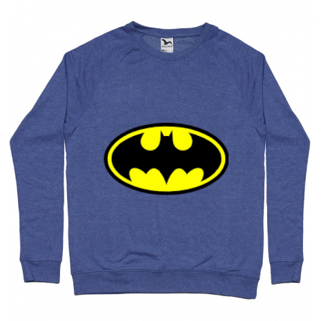 Bluza ADLER barbat Batman Albastru melanj