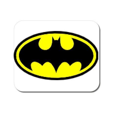 Mousepad personalizat Batman Alb