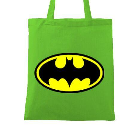 Sacosa din panza Batman Verde mar