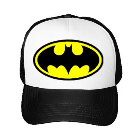 Sapca personalizata Batman Alb