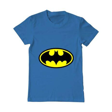 Tricou ADLER barbat Batman Albastru azuriu