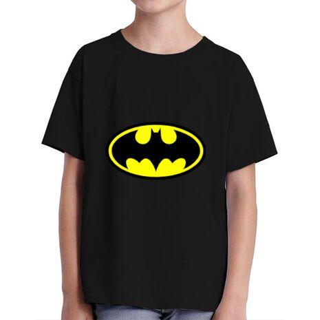 Tricou ADLER copil Batman Negru