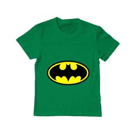 Tricou ADLER copil Batman Verde mediu
