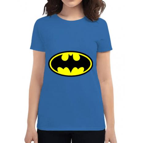 Tricou ADLER dama Batman Albastru azuriu