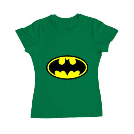 Tricou ADLER dama Batman Verde mediu