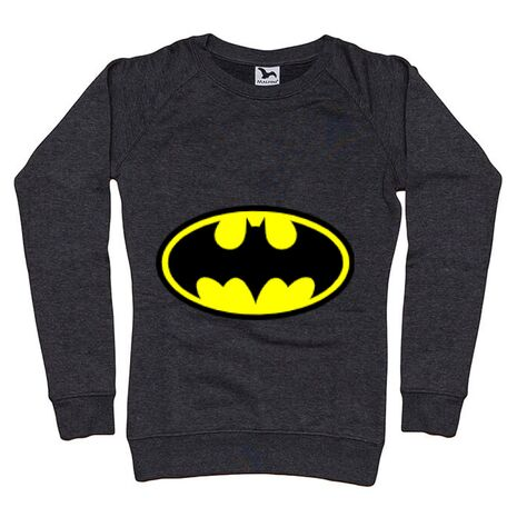 Bluza ADLER dama Batman Negru melanj