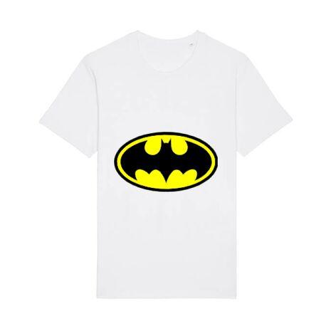 Tricou STANLEY STELLA barbat Batman Alb