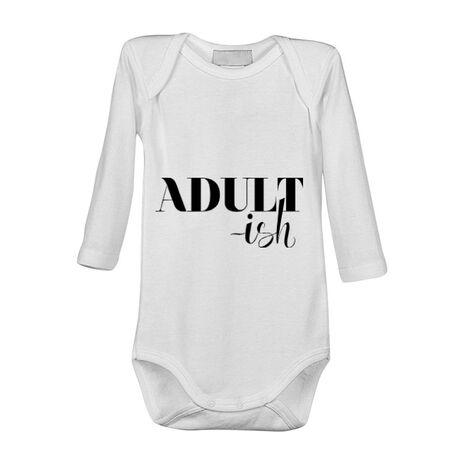 Baby body Adultish Alb