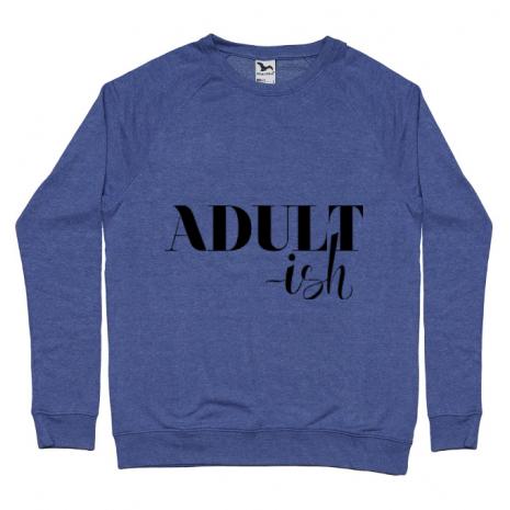 Bluza ADLER barbat Adultish Albastru melanj