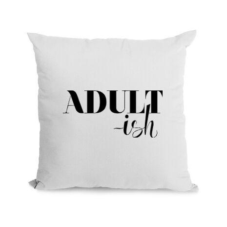 Perna personalizata Adultish Alb