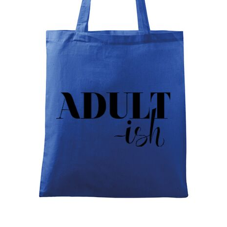 Sacosa din panza Adultish Albastru regal