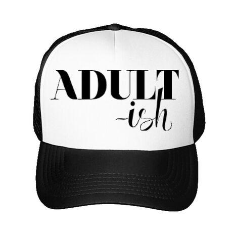 Sapca personalizata Adultish Alb
