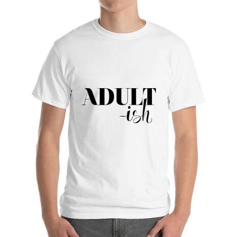 Tricou ADLER barbat Adultish Alb