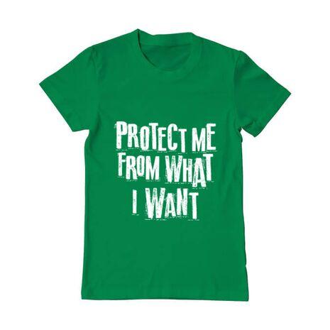 Tricou ADLER barbat Protect me Verde mediu