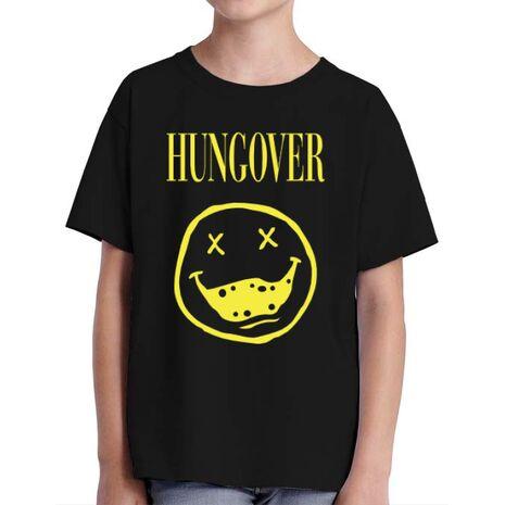 Tricou ADLER copil Hungover Negru