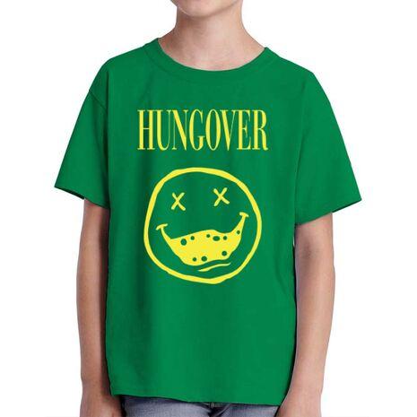 Tricou ADLER copil Hungover Verde mediu