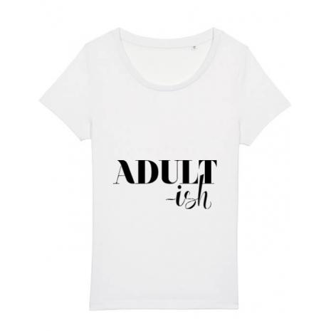 Tricou STANLEY STELLA dama Adultish Alb