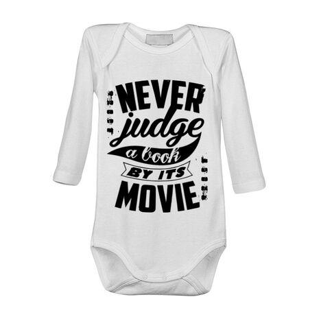 Baby body Never judge a book Alb
