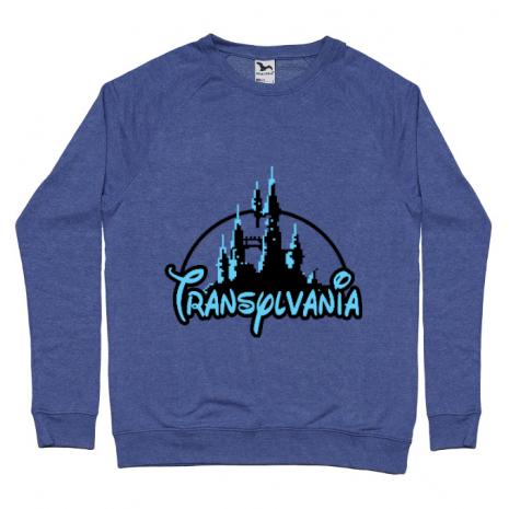 Bluza ADLER barbat Transylvania Albastru melanj
