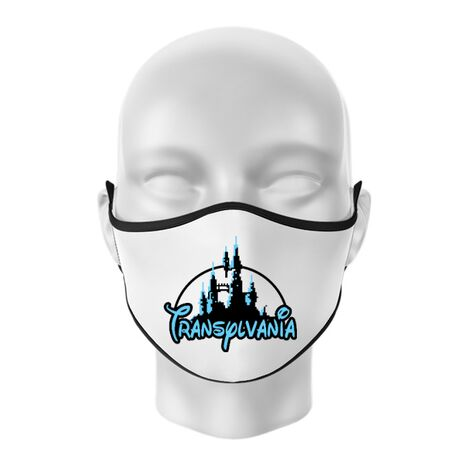 Masca personalizata reutilizabila Transylvania Alb