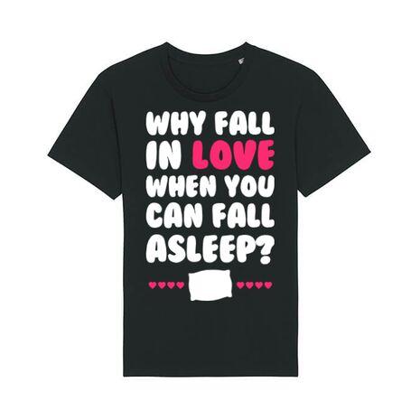 Tricou STANLEY STELLA barbat Why fall in love Negru