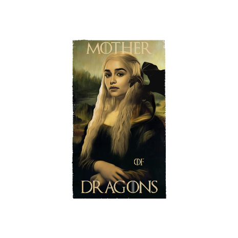 Tricou Mother of dragons 3