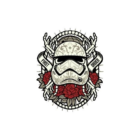 Tricou Sugar Skull Trooper