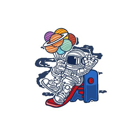 Tricou Space Slider