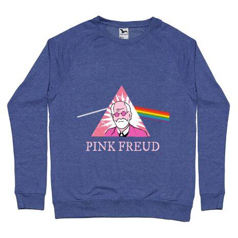 Bluza ADLER barbat Pink Freud Albastru melanj