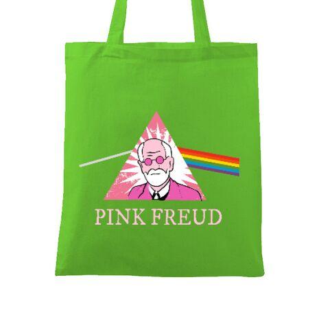 Sacosa din panza Pink Freud Verde mar
