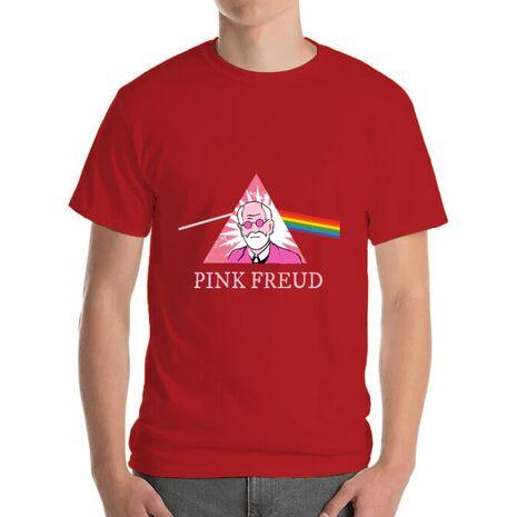 Tricou ADLER barbat Pink Freud Rosu