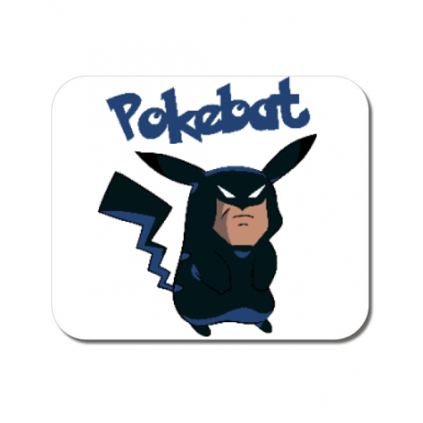 Mousepad personalizat Pokebat Alb