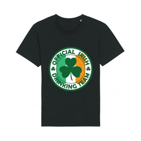 Tricou STANLEY STELLA barbat Irish Drinking Team Negru